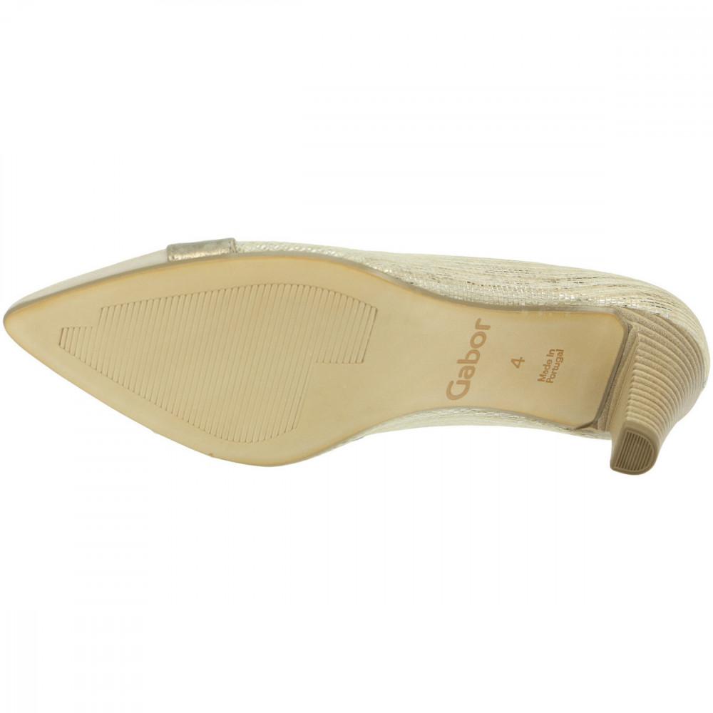 Туфли женские Gabor 41.283.62 золотистые