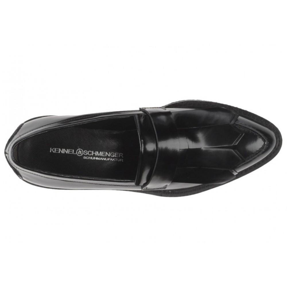 Лоферы Kennel und Schmenger 21-29800-630 черные с бахромой