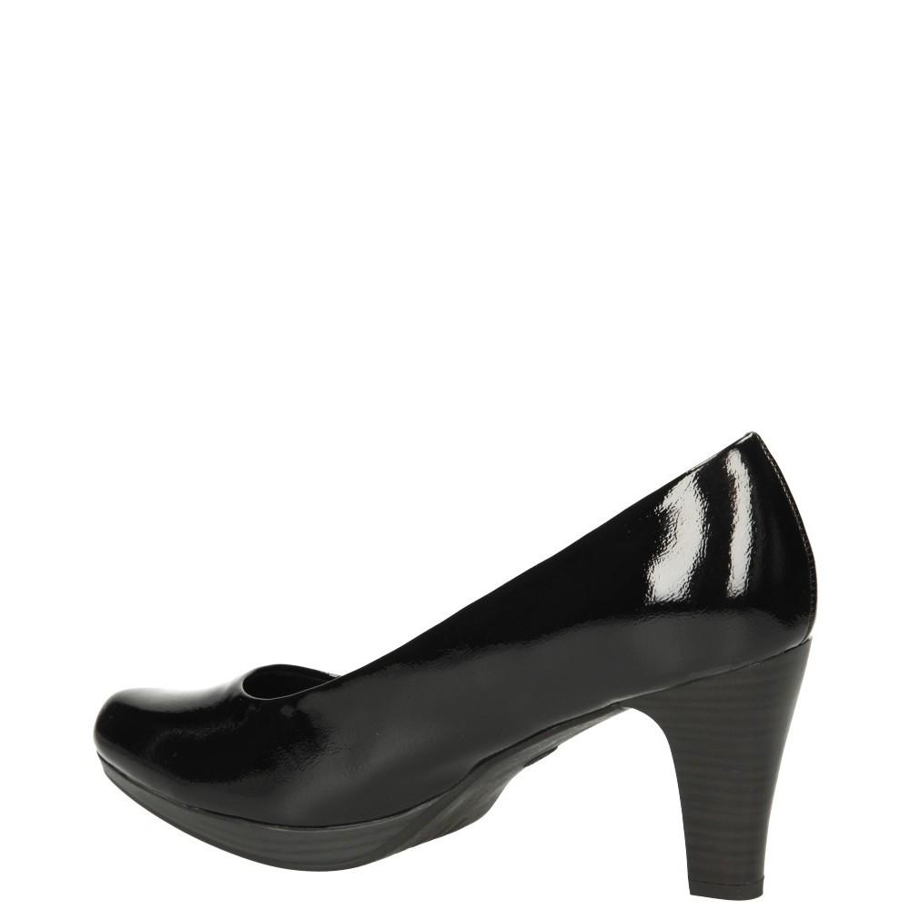 Туфли Marco Tozzi 2-22408-25-018 черные лакированные