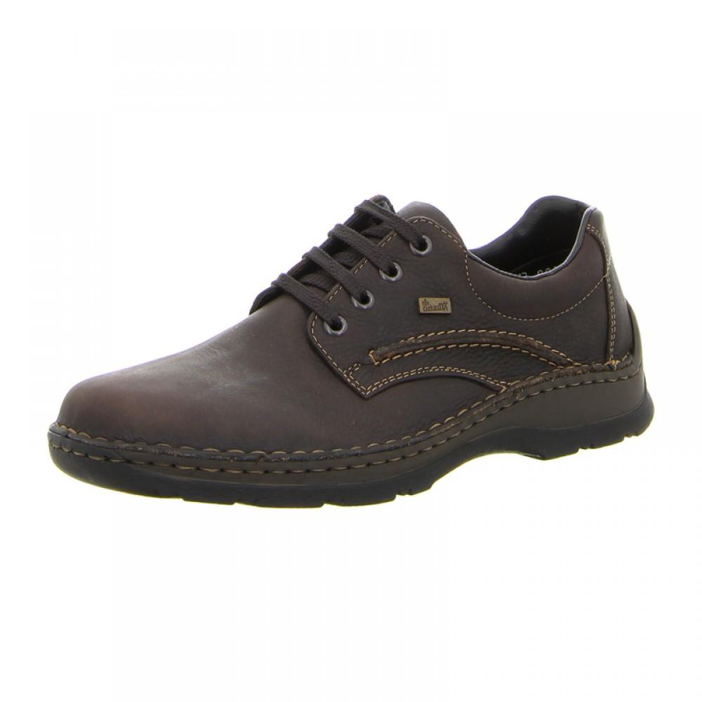 Ботинки Rieker 05310-25 темно коричневые
