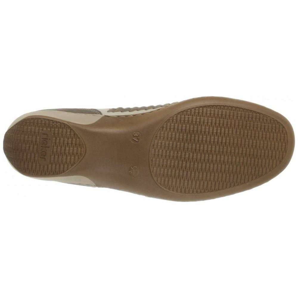 Туфли Rieker 47196-60 бежевые