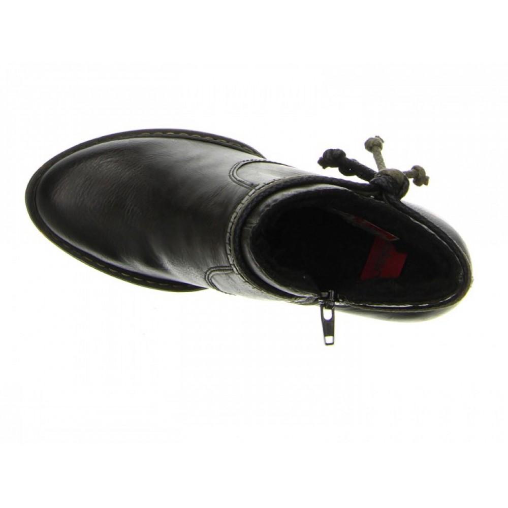Ботильоны Rieker 55298-46 темно коричневые