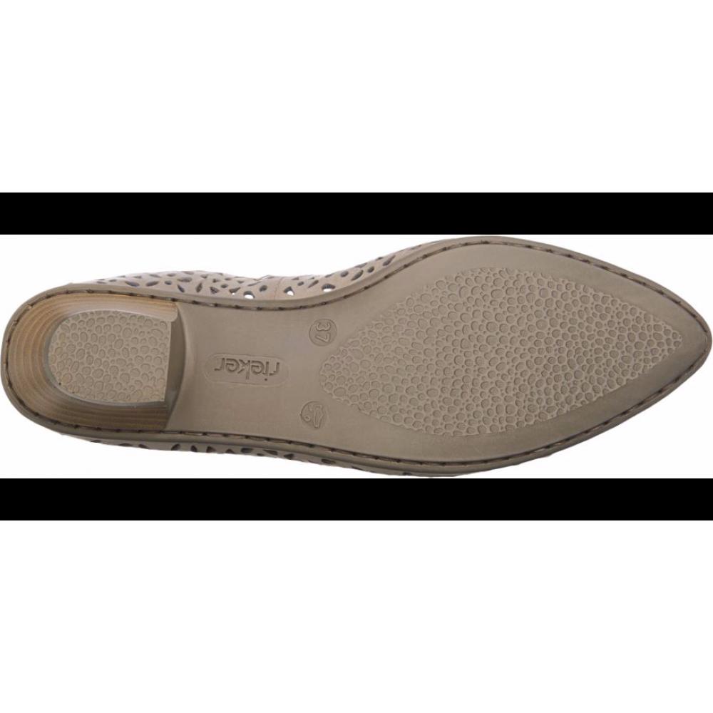 Туфли Rieker 58056-60 бежевые