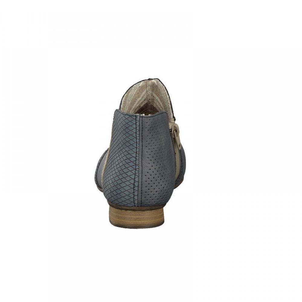 Ботинки Rieker 71975-14 серые