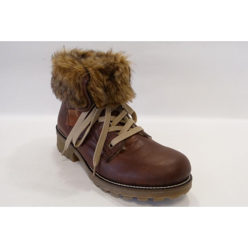 Ботинки Rieker Z0420-24 коричневые