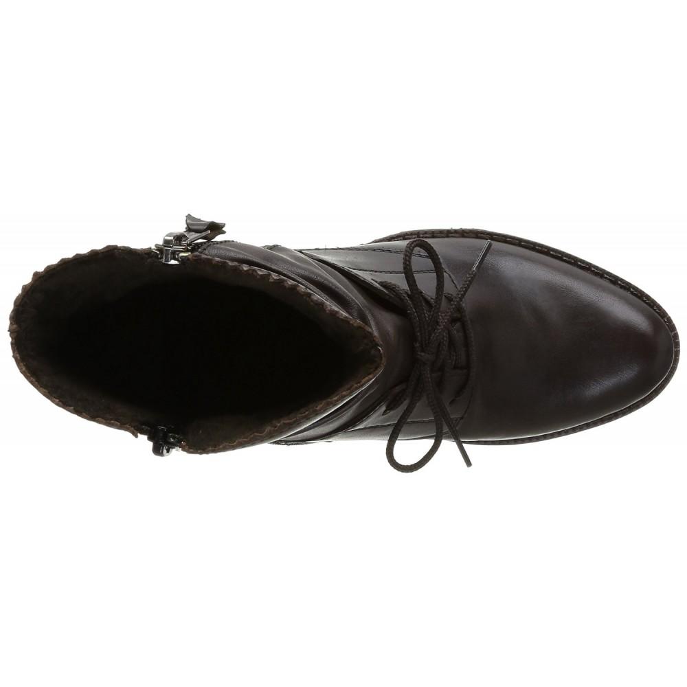Полусапоги Rieker Z7662-25 темно коричневые