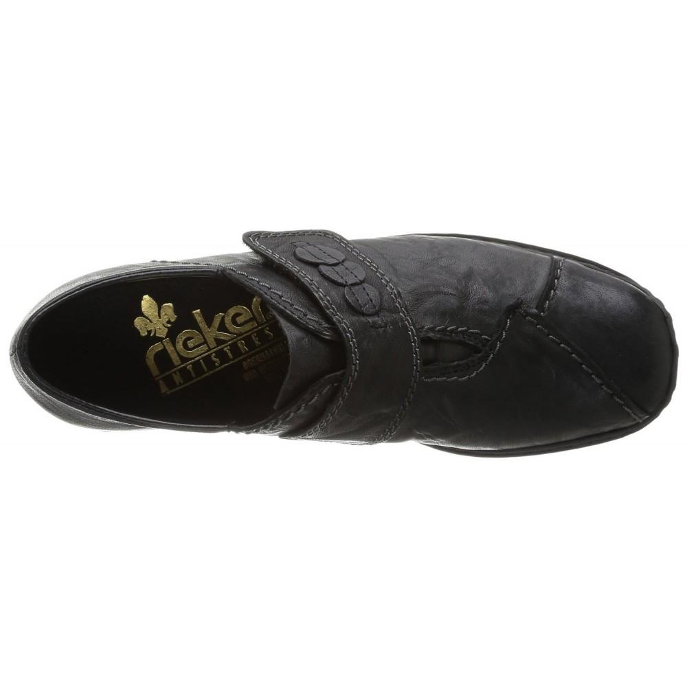 Туфли Rieker L3862-01 черные