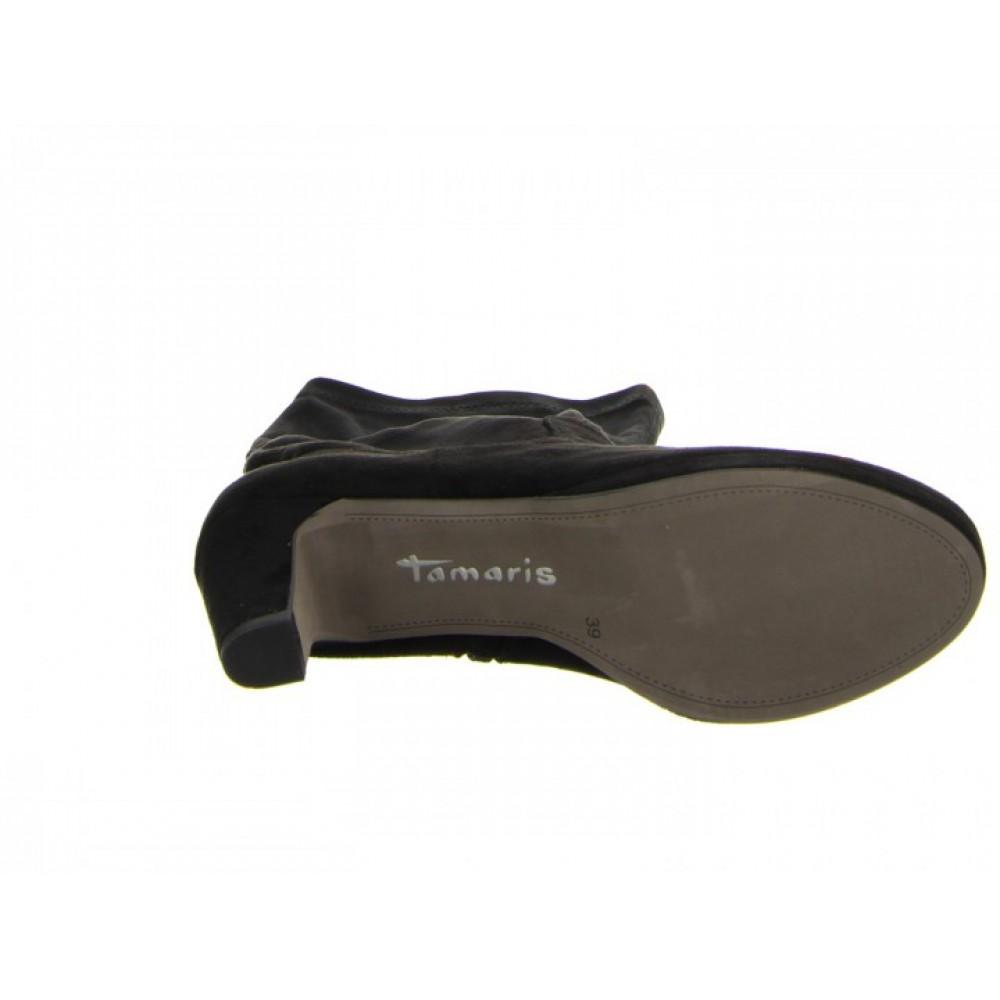 Сапоги чулки  Tamaris 1-25522-25 черные