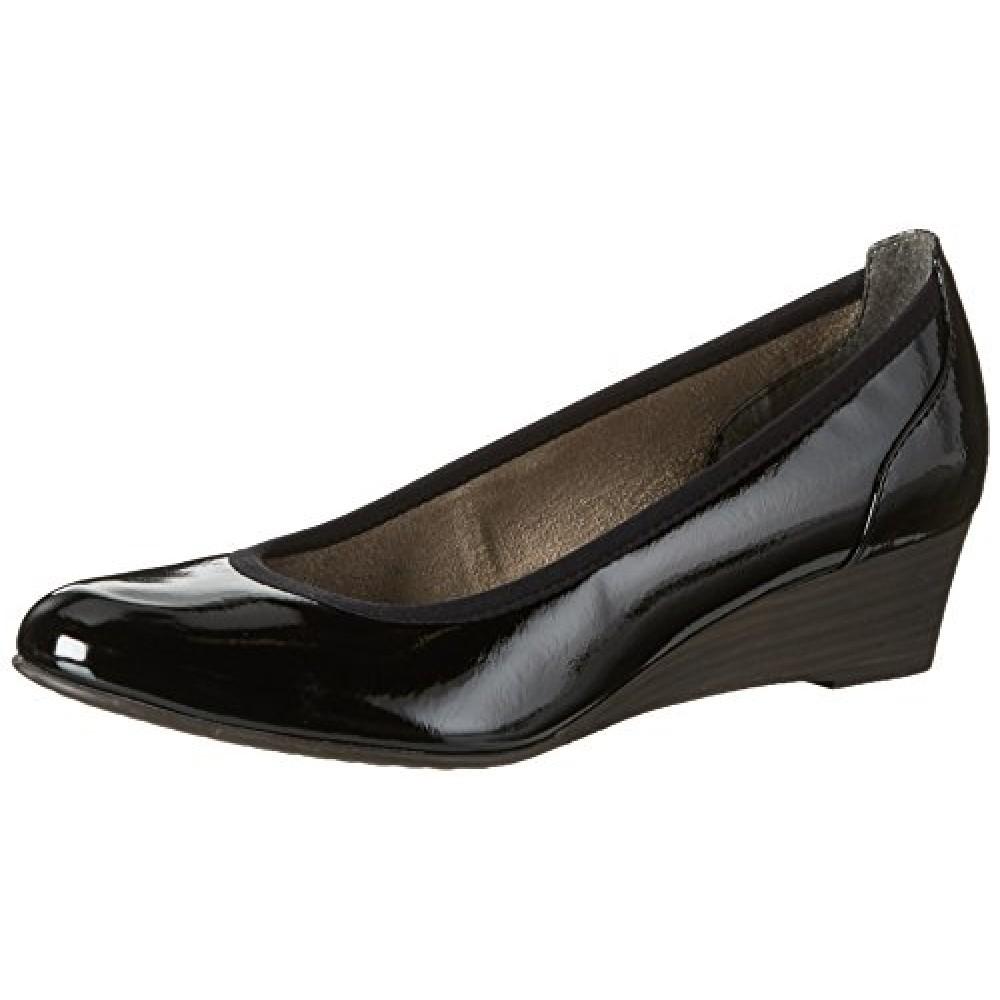 Туфли Tamaris 1-22304-28 черные лаковые