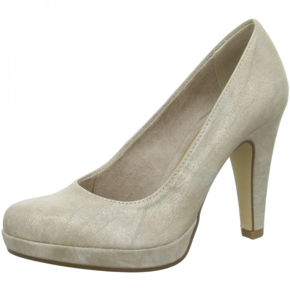 Туфли Tamaris 1-22426-26 золотисто бежевые