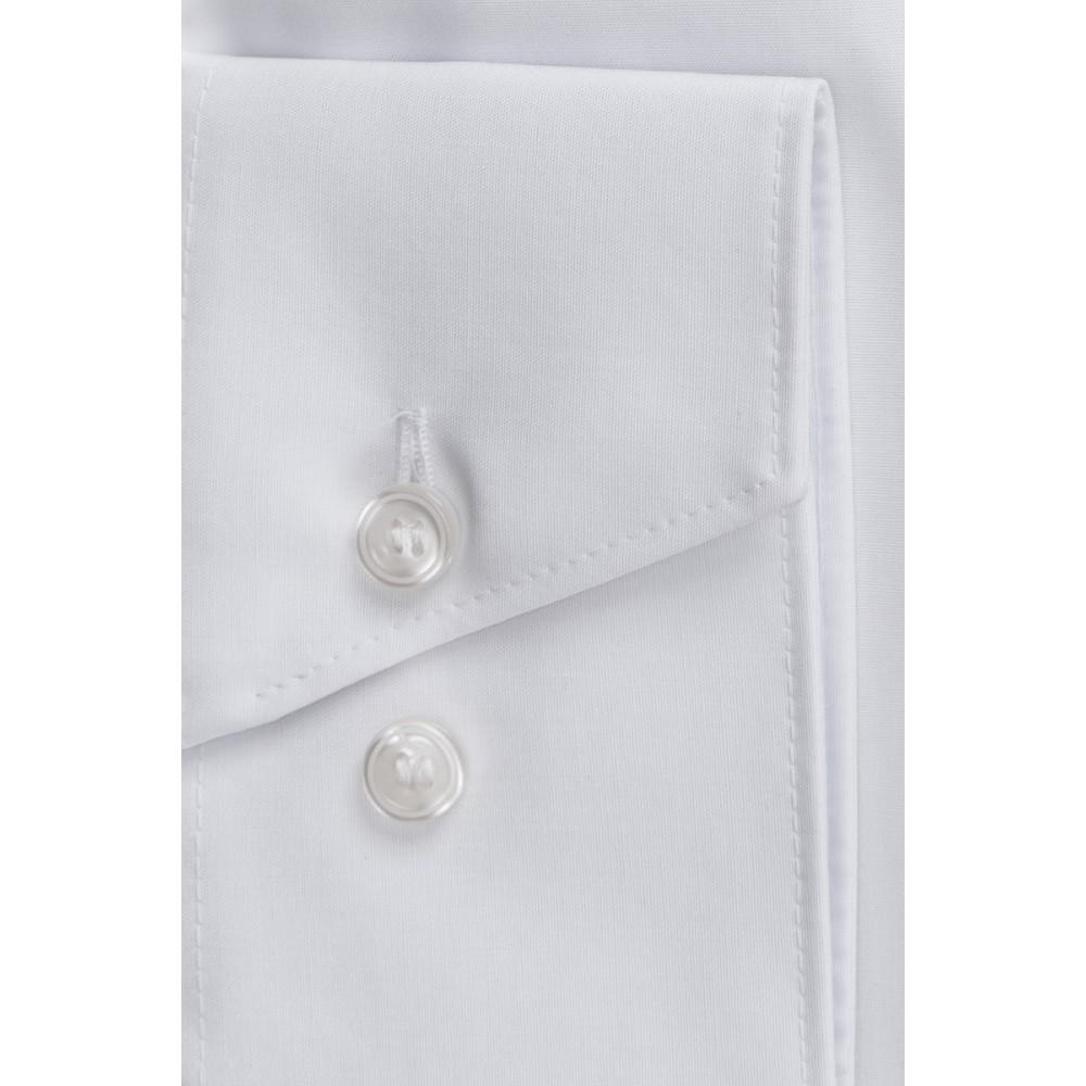 Рубашка Marvelis Comfort Fit 7973-64-00 белая с воротом New Kent