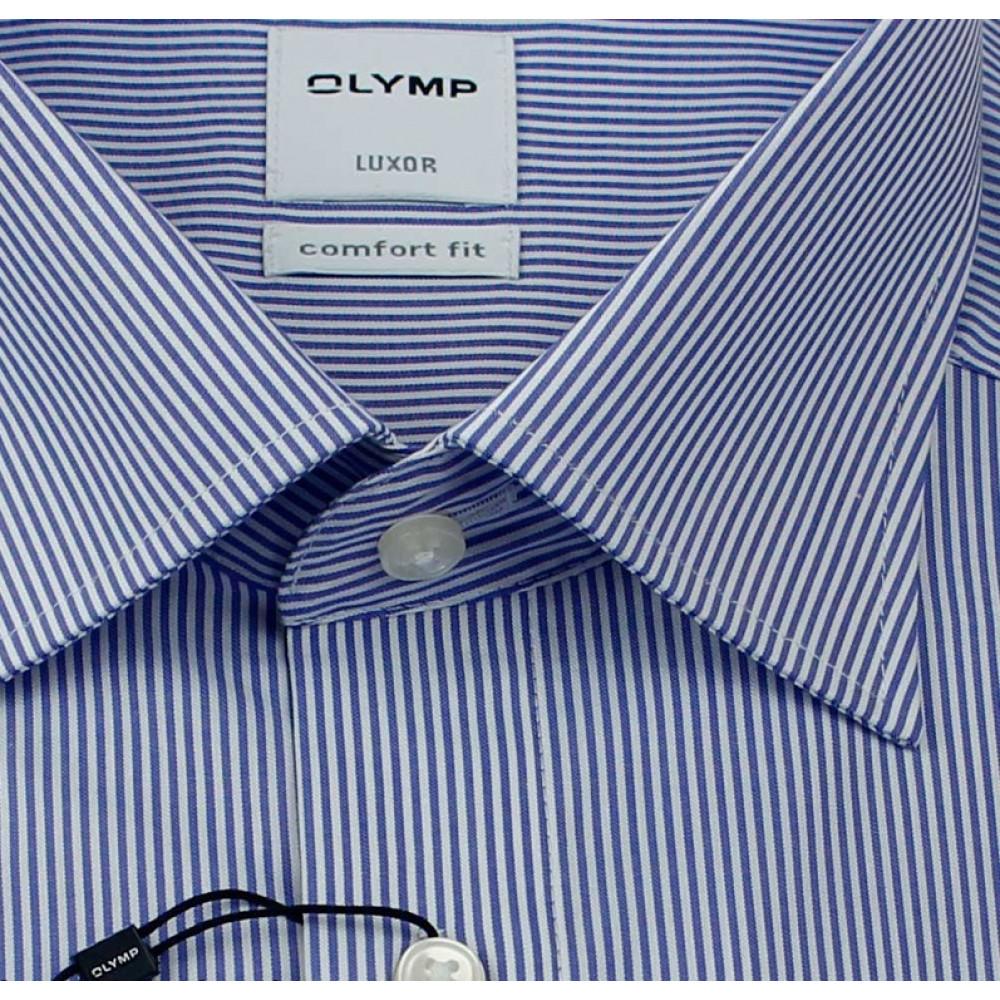 Рубашка мужская Olymp Luxor Comfort Fit 0270-64-15 голубая в полоску