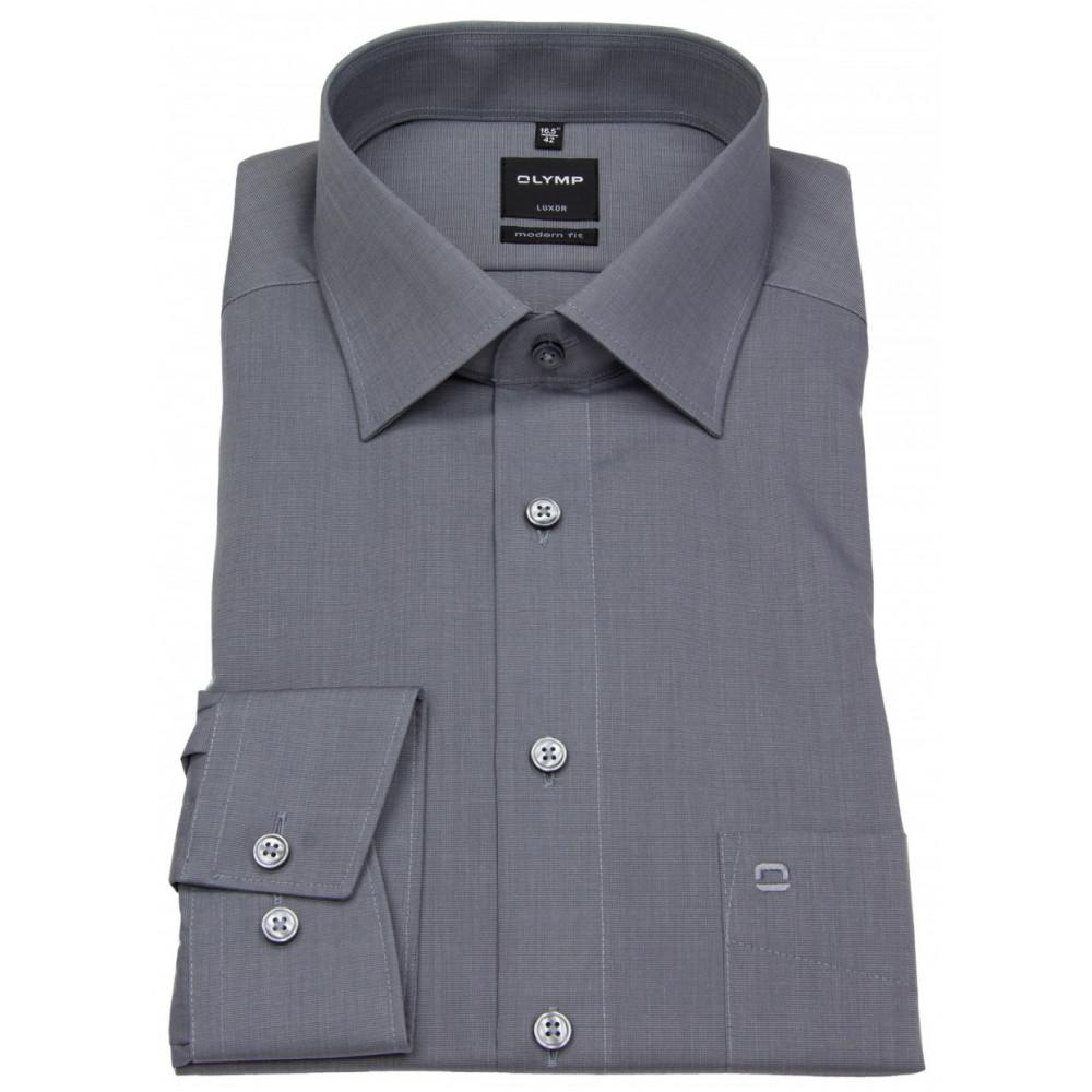 Рубашка Olymp Luxor Modern Fit 0302-64-60 светло серая