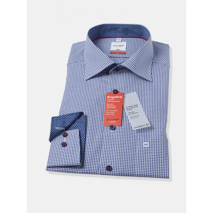 Рубашка Olymp Luxor  Modern Fit 1320-64-19 голубая