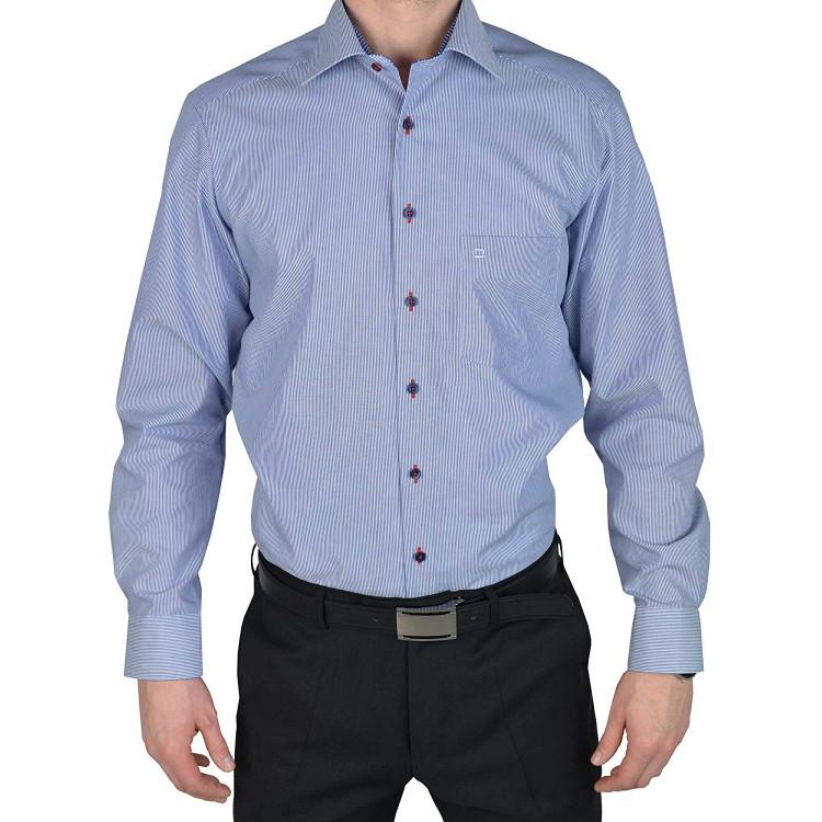 Рубашка Olymp Luxor  Modern Fit 1322-64-19 голубая