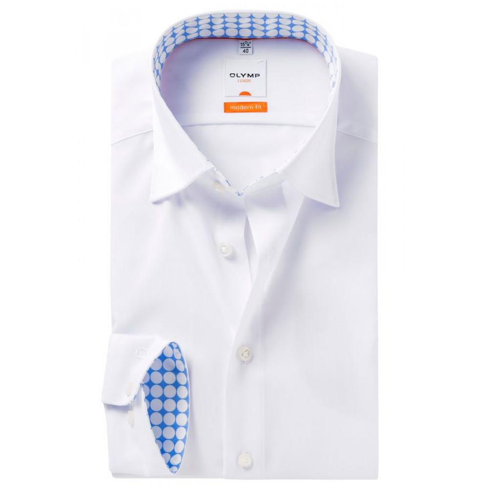 Рубашка Olymp Luxor Modern Fit 3350-64-00 белая