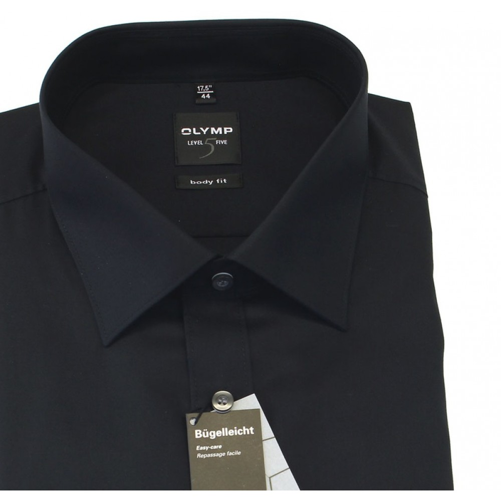 Рубашка мужская Olymp Level Five Body Fit 6090-64-68 черная