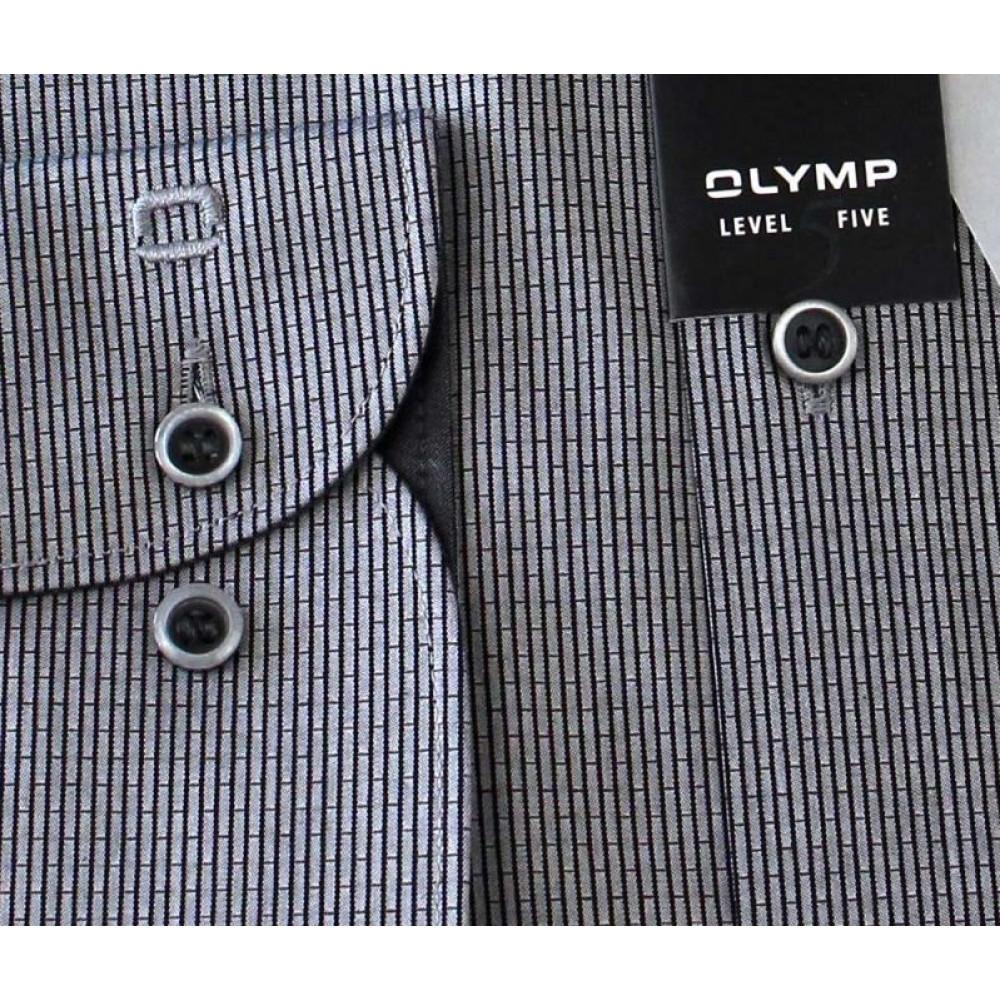 Рубашка мужская Olymp Level Five Body Fit  2033-64-68 серая