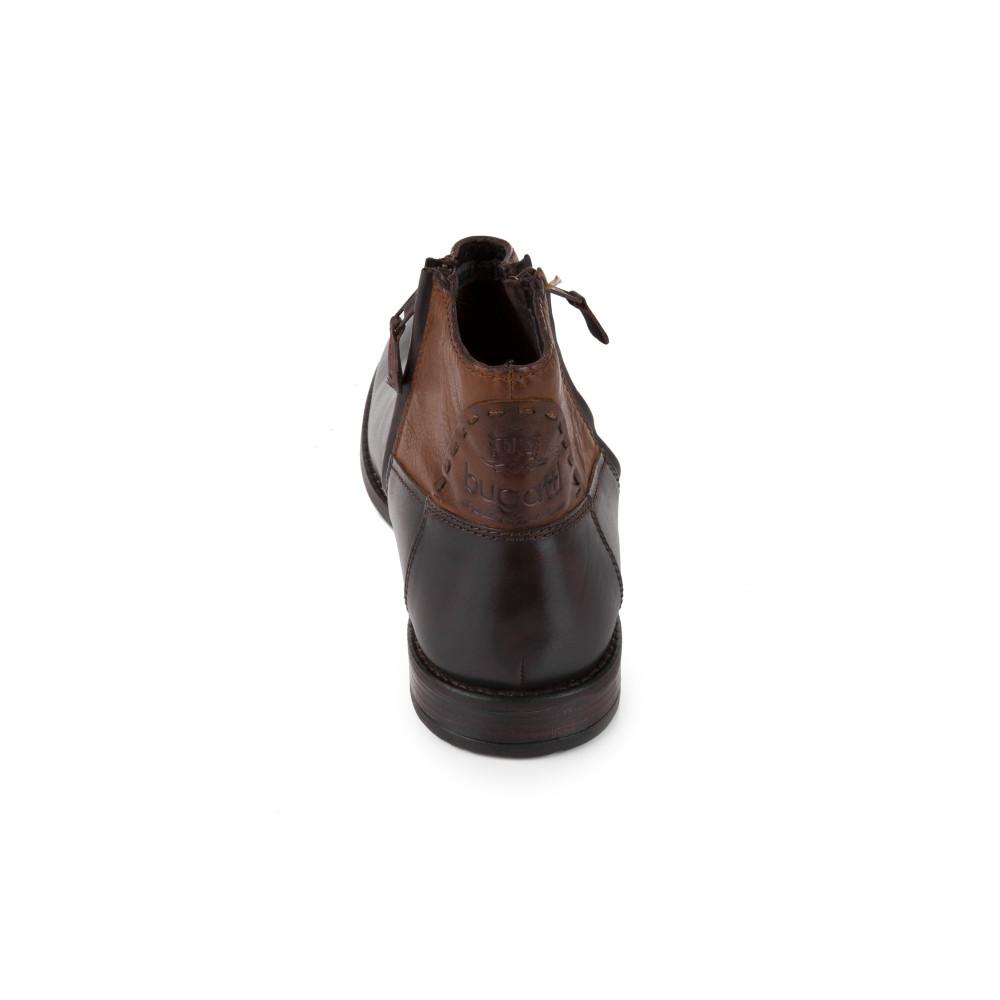 Ботинкии Bugatti U5430-4W коричневые