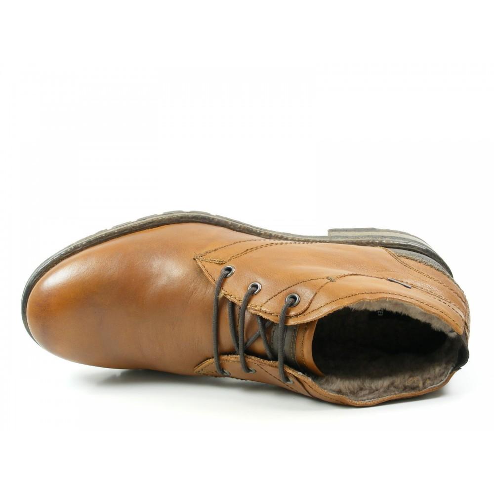 Ботинки зимние Daniel Hechter Sebast HB3942-1 рыжие