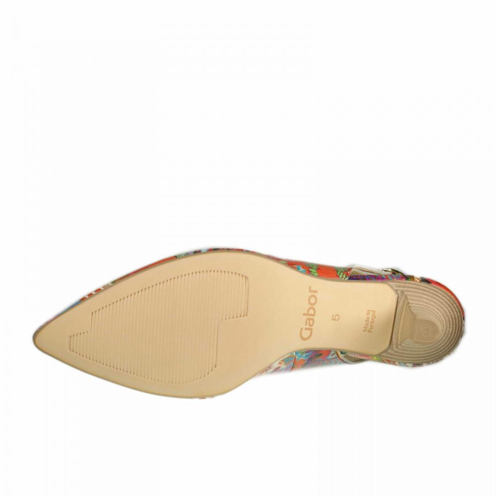 Туфли Gabor 21.550.95 разноцветные