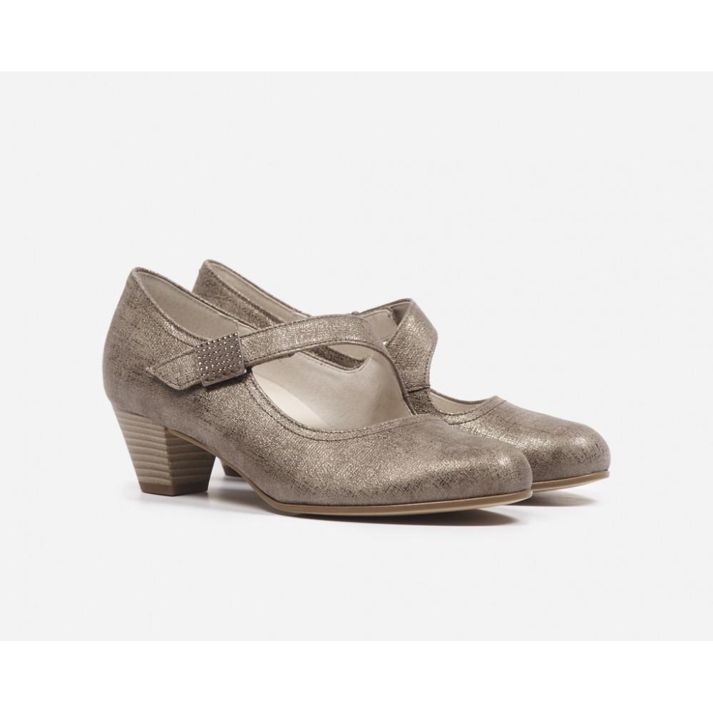Туфли Gabor 46.145.91 серебристые