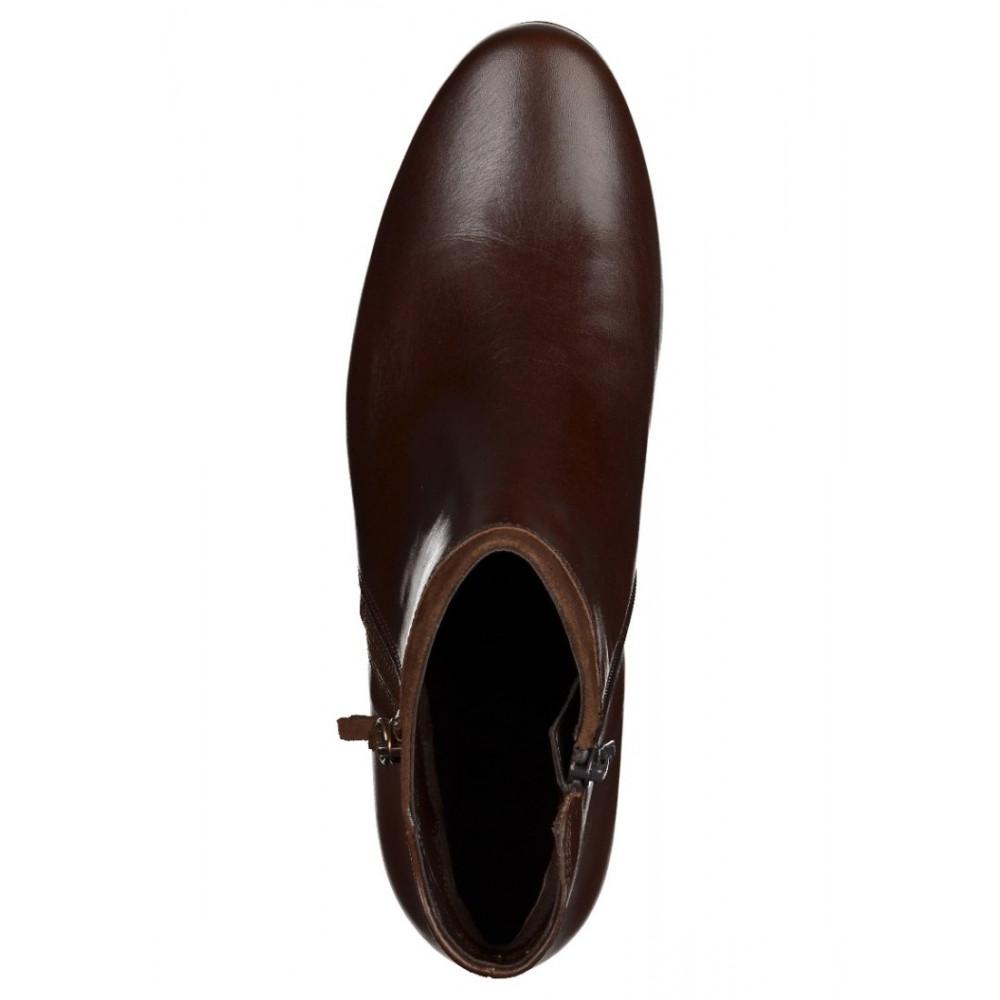 Ботильоны Gabor 92.821.25 темно коричневые