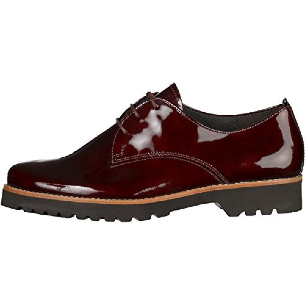 Туфли оксфорды женские лакированные Gabor 32.665.38 цвета Merlot