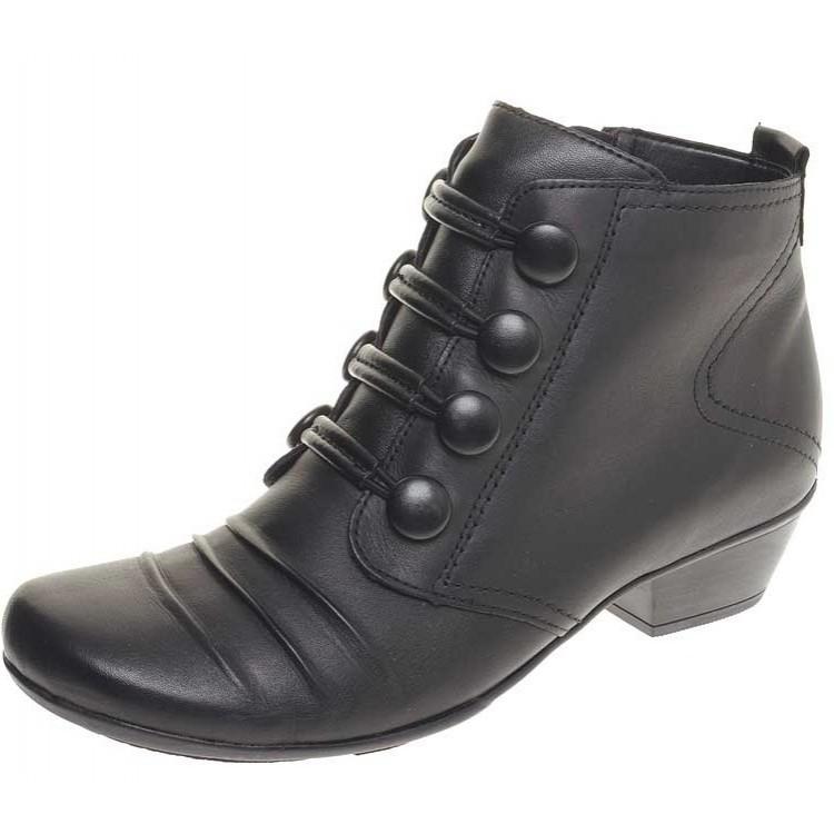 Ботинки Remonte D7372-11 черные