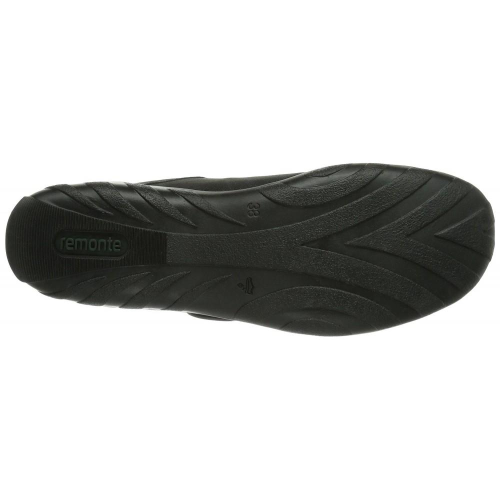 Кеды Remonte R3408-45 черно серебристые