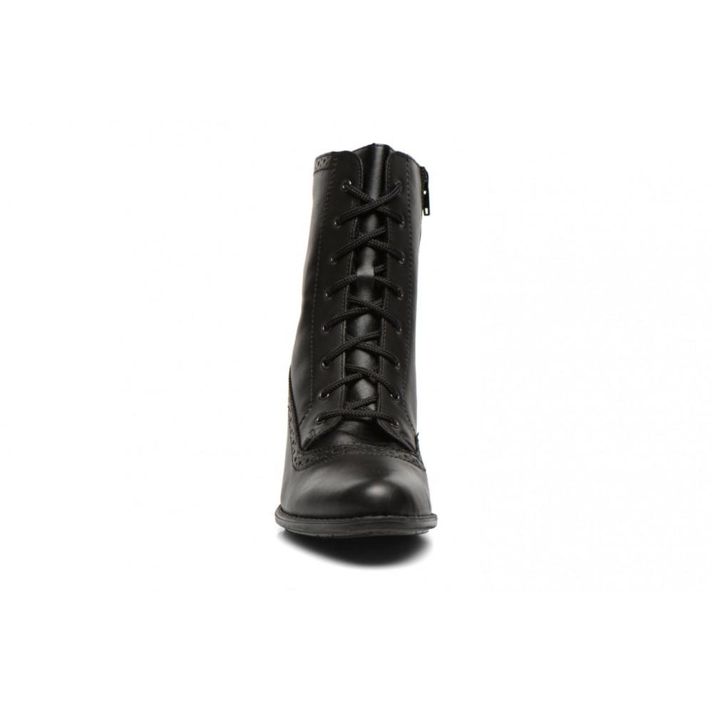 Полусапоги Rieker Z7644-00 черные