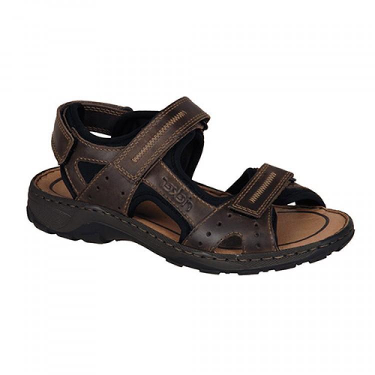 Сандалии Rieker 26061-25 темно коричневые