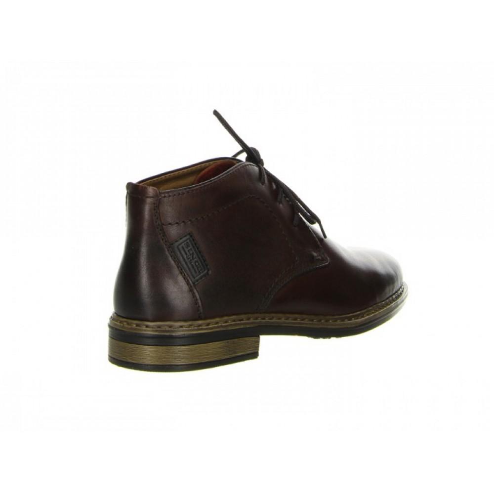 Ботинки Rieker 37612-26 темно коричневые