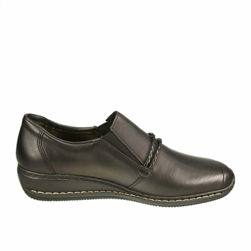 Туфли Rieker 44360-00 черные
