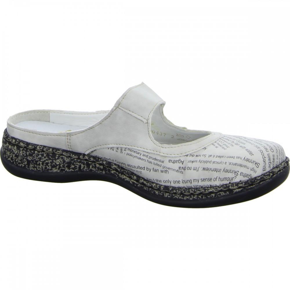 Сабо Rieker 46385-80 белые
