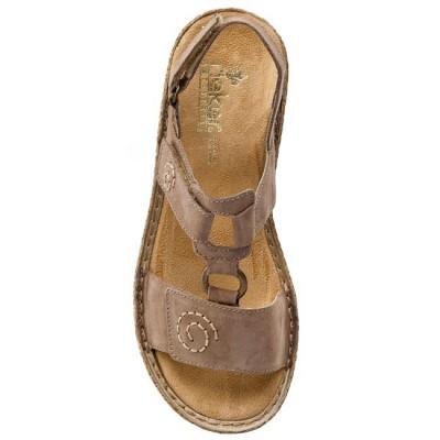 Сандалии Rieker 65863-64 коричневые