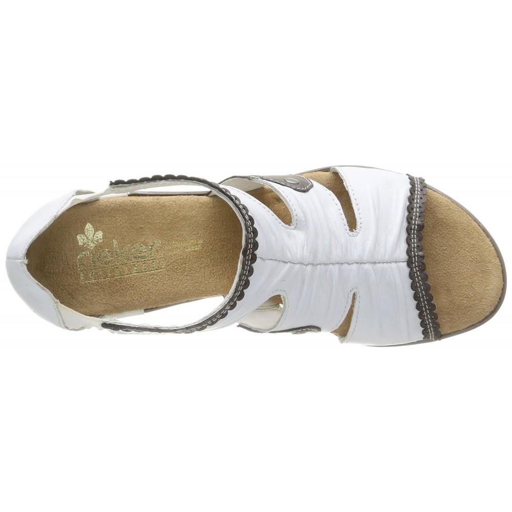 Босоножки Rieker 67383-80 белые