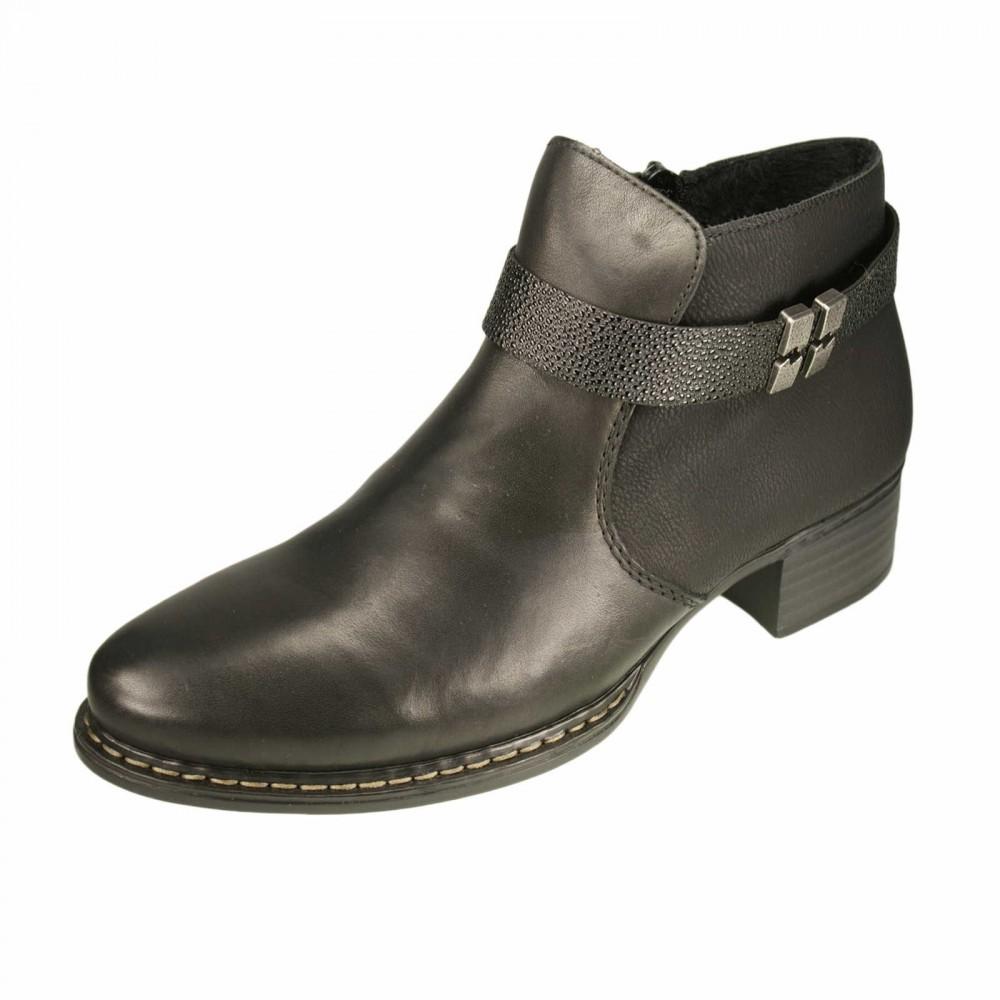 Ботинки Rieker 73660-01 черные