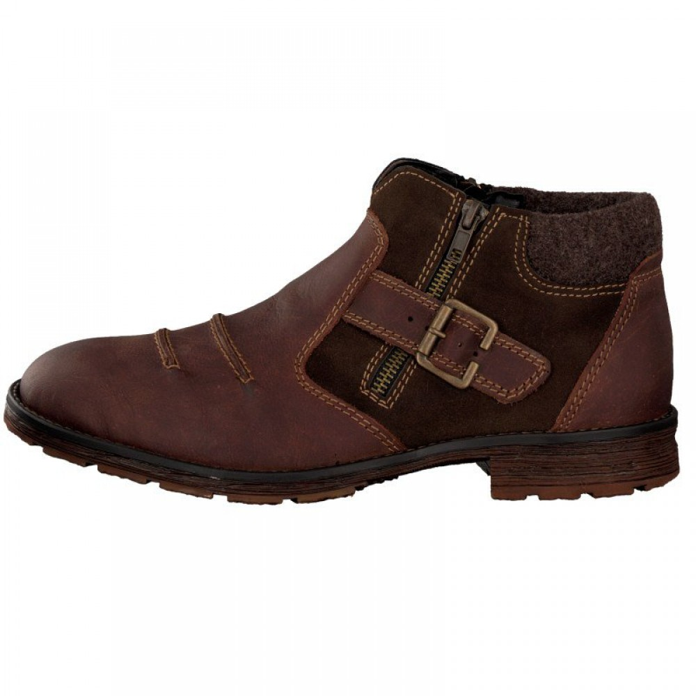 Ботинки Rieker F2262-25 коричневые