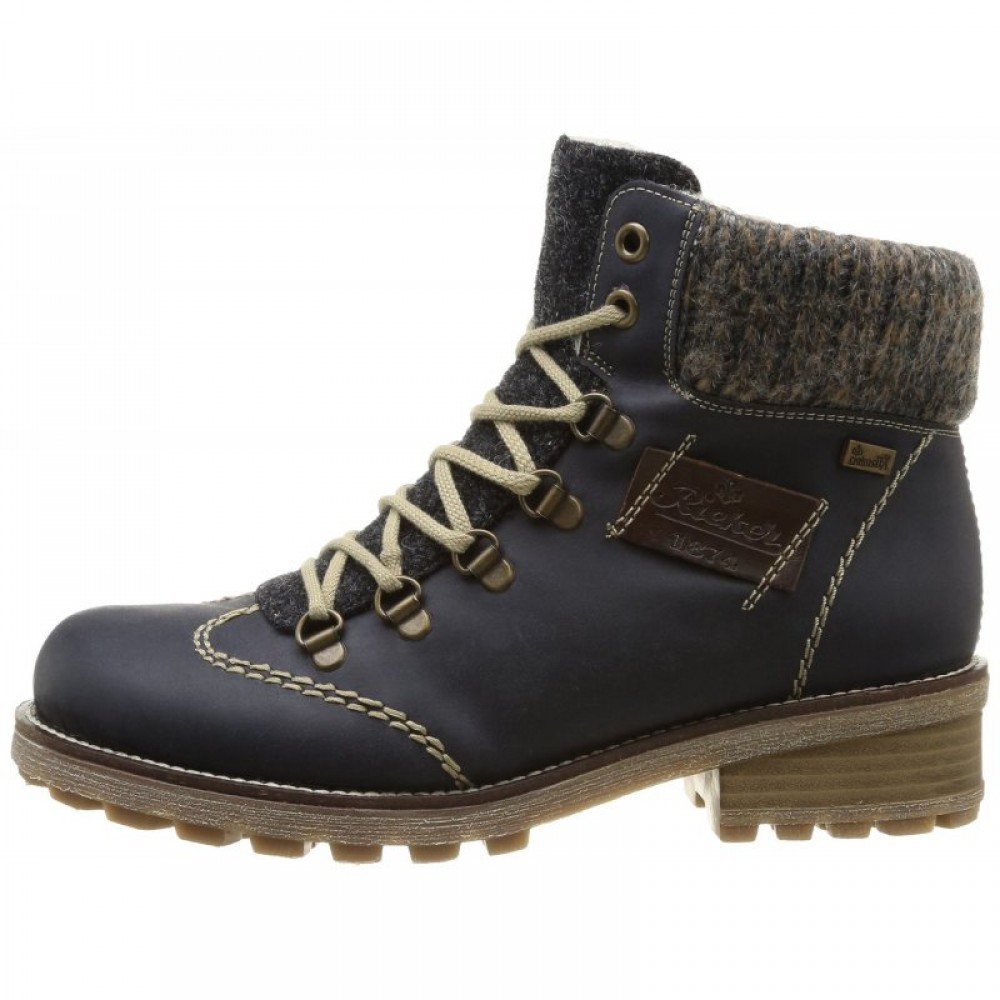 Ботинки Rieker Z0444-15 синие