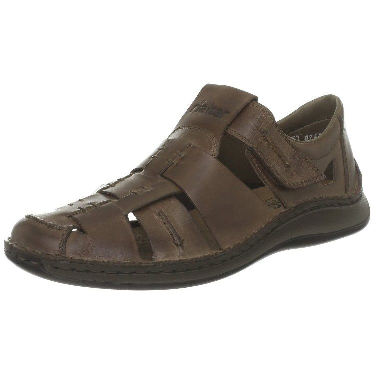 Сандалии мужские Rieker 05275-26 коричневые