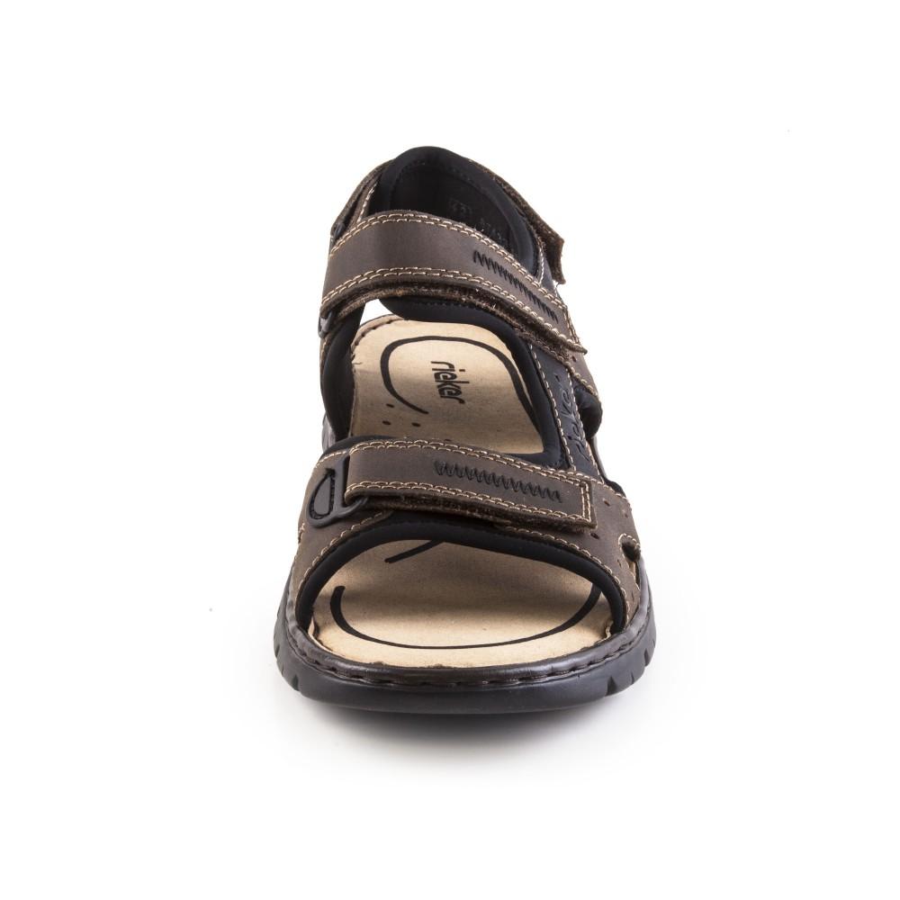 Сандалии Rieker 26757-25 коричневые