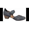 Босоножки Rieker 49759-14 голубые