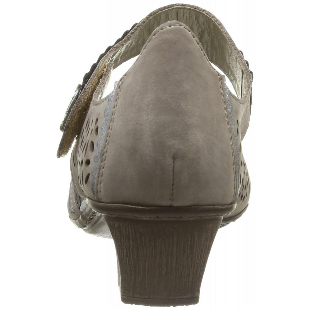 Босоножки Rieker 49795-64 серые
