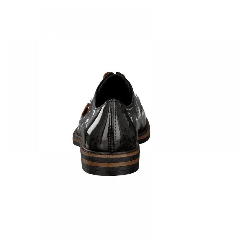 Туфли оксфорды лаковые женские Rieker 50614-90