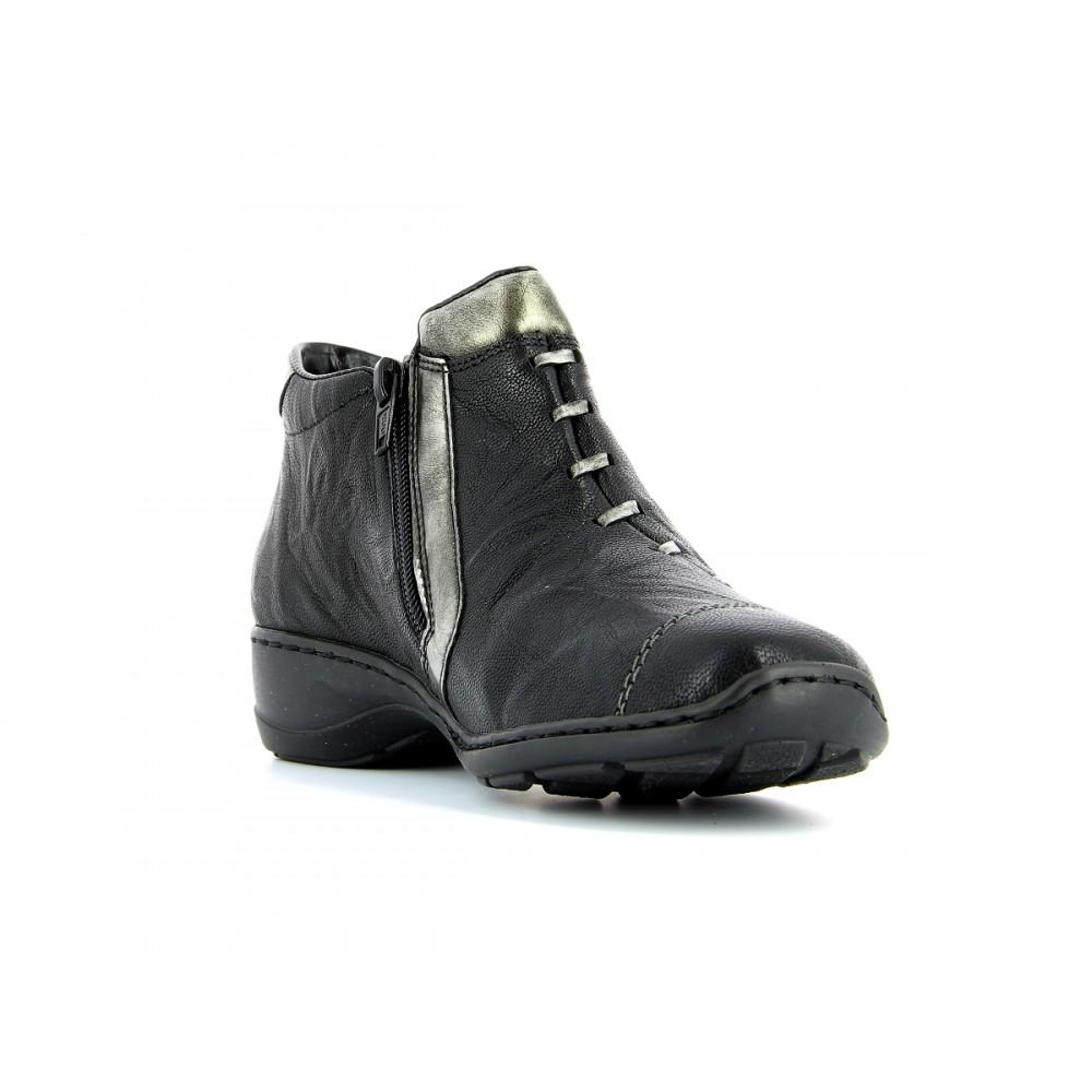 Ботинки женские Rieker 58360-00 черные