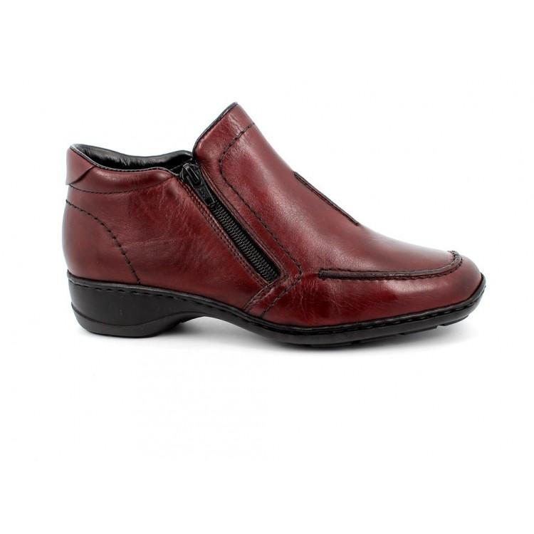 Ботинки Rieker 58386-35 бордовые
