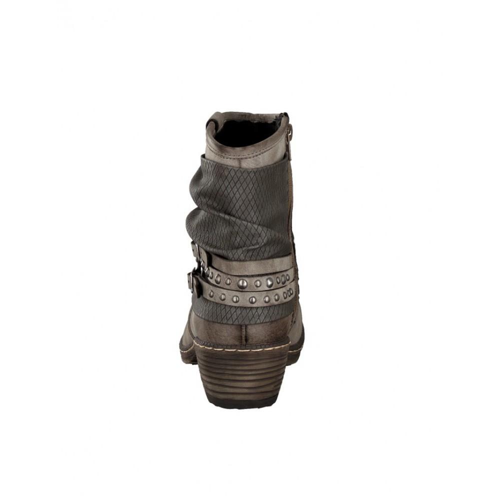 Полусапоги женские Rieker K1493-25 серые
