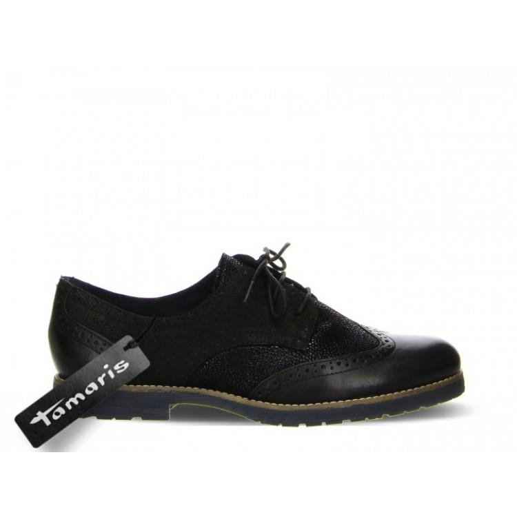 Туфли дерби Tamaris 1-23215-25 черные