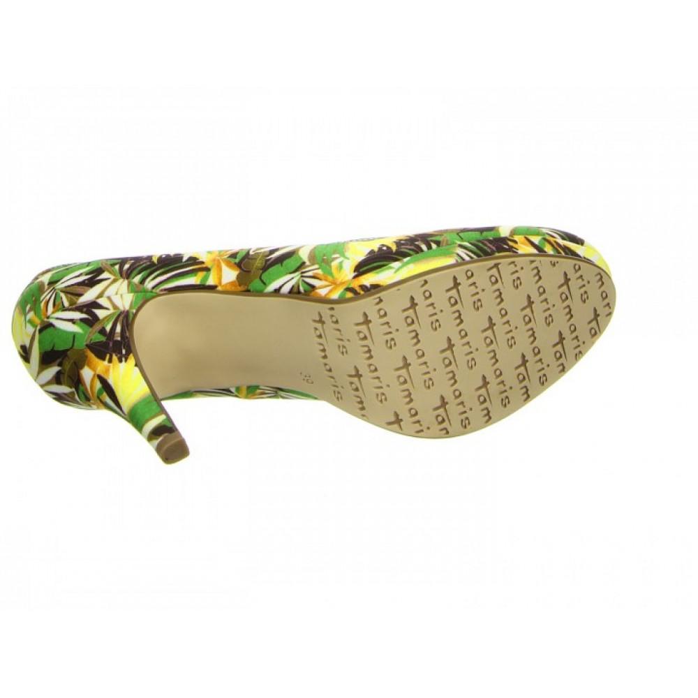 Туфли Tamaris 1-1-22407-26 зеленые